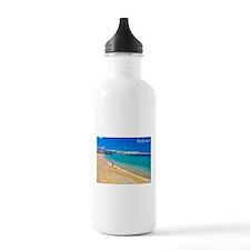 Cute Greek islands Water Bottle