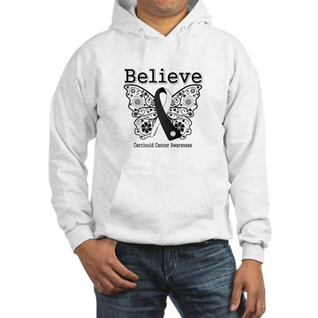 Believe - Carcinoid Cancer Hooded Sweatshirt