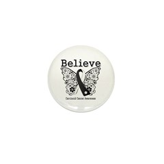 Believe - Carcinoid Cancer Mini Button (10 pack)