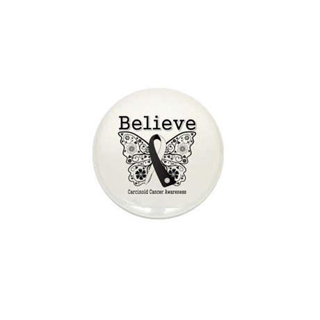 Believe - Carcinoid Cancer Mini Button (100 pack)