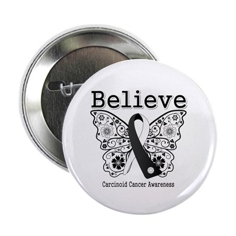 "Believe - Carcinoid Cancer 2.25"" Button (100 pack)"