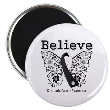 "Believe - Carcinoid Cancer 2.25"" Magnet (10 pack)"