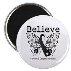 Believe - Carcinoid Cancer 2.25&quot; Magnet (100 pack)