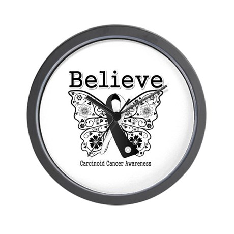 Believe - Carcinoid Cancer Wall Clock