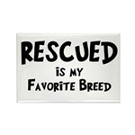 Favorite Breed Rectangle Magnet (10 pack)