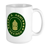Command Sergeant Major <BR>Army Retired Mug 1