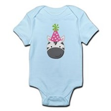 Birthday Zebra Infant Bodysuit