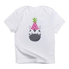 Birthday Zebra Infant T-Shirt