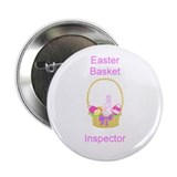 "Easter Basket Inspector 2.25"" Button (10 pack)"