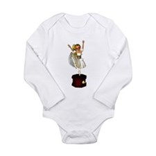 Music Box Dancer Long Sleeve Infant Bodysuit