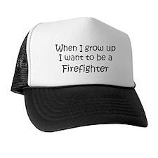 Grow Up Firefighter Trucker Hat