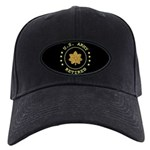 Retired Army Major Black Cap