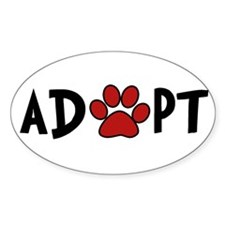 Adopt - Paw Decal