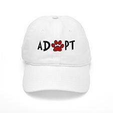 Adopt - Paw Baseball Cap