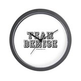Team Denise -  Wall Clock