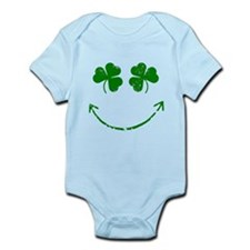 St Patrick's Irish shamrock s Infant Bodysuit