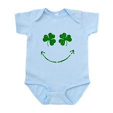 St Patrick's Irish shamrock s Infant Bodysuit