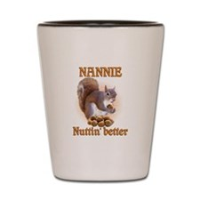 Nannies Shot Glass
