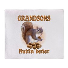 Grandsons Throw Blanket
