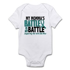 My Battle Too Ovarian Cancer Infant Bodysuit
