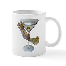 Martini Squirrel Mug