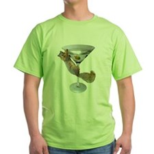 Martini Squirrel T-Shirt