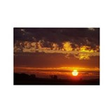 Sunrises and Sunsets Rectangle Magnet (10 pack)