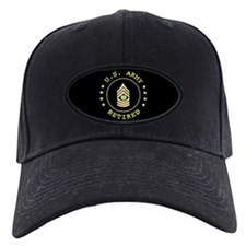 Retired Army CSM Baseball Hat