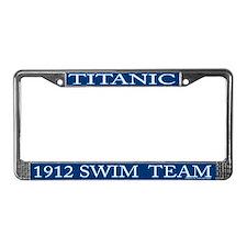 Unique Titanic neon License Plate Frame