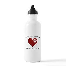 Codar Paw in Heart Sports Water Bottle