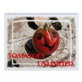TOMATO CALENDAR Wall Calendar