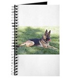 German Shepherd Lying Design Journal