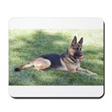 German Shepherd Lying Design Mousepad