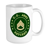 Retired Army Staff Sergeant Coffee Mug
