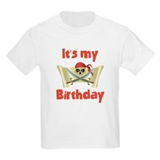 Unique Birthday pirate theme T-Shirt