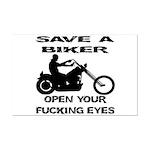 Save A Biker Mini Poster Print