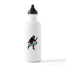 Bigfoot Yeti Sasquatch Wassup Water Bottle
