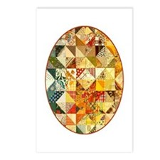 Fun Patchwork Quilt Postcards (Package of 8)