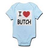 I heart butch Infant Bodysuit