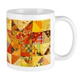 Fun Patchwork Quilt Small Mug