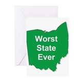 Cool Ohio Greeting Cards (Pk of 20)