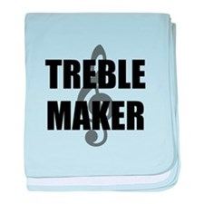 Treble Maker baby blanket