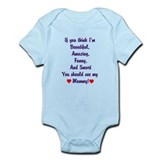 Cute Cute smart baby Infant Bodysuit