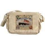 Titanic First Class Soap Messenger Bag