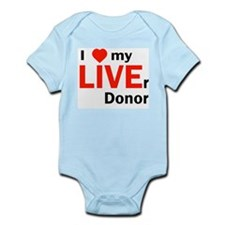 Live Liver Donor Infant Creeper