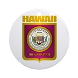 Hawaii Gold Ornament (Round)