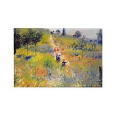 Renoir Rectangle Magnet