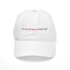 MS Walk Every Day Baseball Cap
