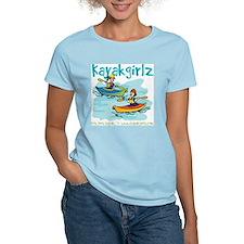 Cute Boat lady T-Shirt