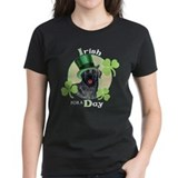 Cute Black lab st. patrick's day Tee